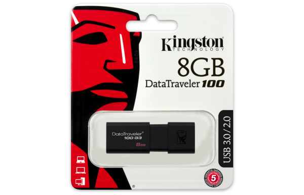 Kingston 8Gb DataTraveler 100G3